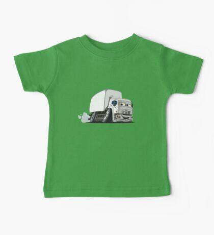 Cartoon Cargo Truck Baby Tee
