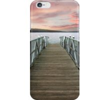 Sunset at Stewart Park iPhone Case/Skin