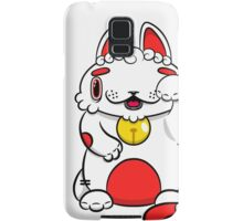 LUCKEE White and Red litter Samsung Galaxy Case/Skin