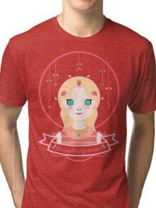 Strawberry Moon Tri-blend T-Shirt