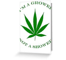 Marijuana Dispensary Legal Weed Greeting Card