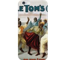 Performing Arts Posters Uncle Toms cabin 1166 iPhone Case/Skin