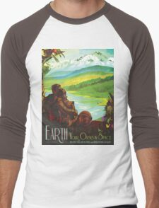 Earth: Your Oasis in Space Men's Baseball ¾ T-Shirt