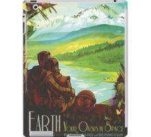 Earth: Your Oasis in Space iPad Case/Skin