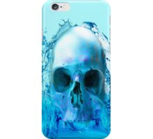 SKULL IN WATER iPhone Case/Skin