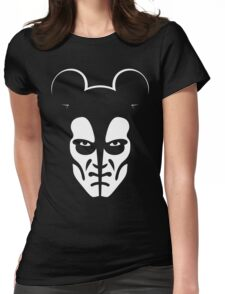 Horror Mouse Womens Fitted T-Shirt