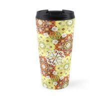 Seamless lace pattern print background Travel Mug