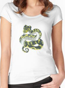 Broad-headed Snake Women's Fitted Scoop T-Shirt