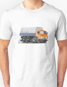 Cartoon Cargo Truck Unisex T-Shirt