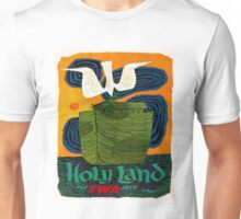 """TWA AIRLINES"" Fly to The Holy Land Advertising Print Unisex T-Shirt"