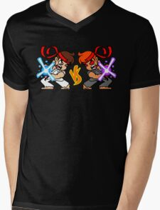 Fight Yourself - Mirror Version Mens V-Neck T-Shirt
