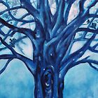 'BLUE TREE' by Jerry Kirk