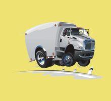 cartoon delivery / cargo truck One Piece - Short Sleeve