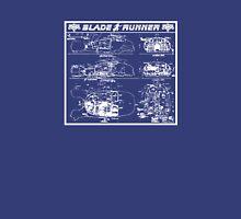Blade Runner spinner blueprint Unisex T-Shirt