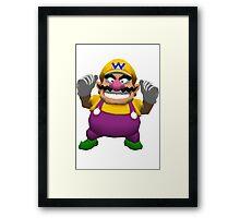 Wario sprite Framed Print