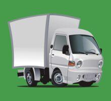 cartoon delivery / cargo truck Baby Tee