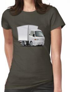 cartoon delivery / cargo truck Womens Fitted T-Shirt