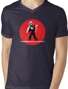 Forbidden Planet Mens V-Neck T-Shirt