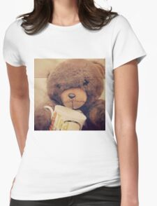 Teddy lovee Womens Fitted T-Shirt