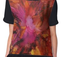 'Salsa' the hot dance  Chiffon Top