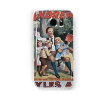Performing Arts Posters The singing comedian Andrew Mack in the greatest of Irish plays Myles Aroon 0734 Samsung Galaxy Case/Skin