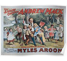 Performing Arts Posters The singing comedian Andrew Mack in the greatest of Irish plays Myles Aroon 0734 Poster