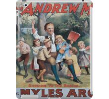 Performing Arts Posters The singing comedian Andrew Mack in the greatest of Irish plays Myles Aroon 0734 iPad Case/Skin