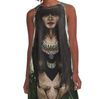 aztec  A-Line Dress