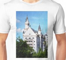 Neuschwanstein castle in watercolor Unisex T-Shirt