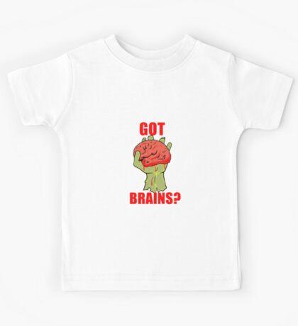 Got Brains? Kids Tee