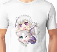 Re: Zero - Puck & Emilia Unisex T-Shirt