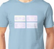 Old School VCR Pastel Unisex T-Shirt