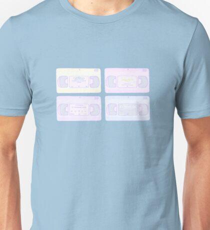 Old School VCR Pastel Unisex T-Shirt