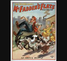 Performing Arts Posters The old reliable McFaddens flats everything new 0092 Unisex T-Shirt