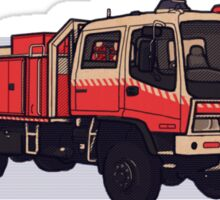 NSW Rural Fire Service Cat1 firetruck Sticker