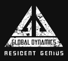 Eureka-Resident Genius Grunge Kids Tee