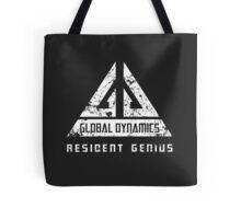 Eureka-Resident Genius Grunge Tote Bag