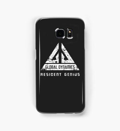 Eureka-Resident Genius Grunge Samsung Galaxy Case/Skin