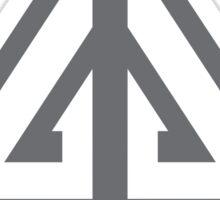 Eureka-Resident Genius Grunge Sticker