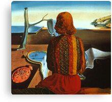The Woman - Dali x Dali Canvas Print