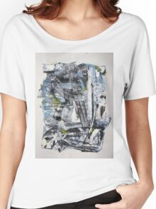 Olympus Armor of Poseidon, Original Abstract painting Women's Relaxed Fit T-Shirt