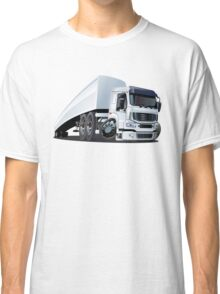 Cartoon cargo semi-truck Classic T-Shirt