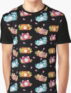 Camera Girl - Black Graphic T-Shirt