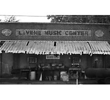 LaVene Music Center / Red's Blues Club Photographic Print