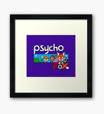 PSYCHO FOX - SEGA MASTER SYSTEM Framed Print