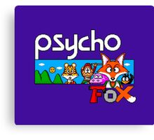 PSYCHO FOX - SEGA MASTER SYSTEM Canvas Print