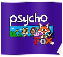 PSYCHO FOX - SEGA MASTER SYSTEM Poster