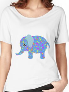 elephant abstract Women's Relaxed Fit T-Shirt