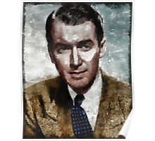 James Stewart Hollywood Actor Poster