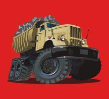 Cartoon Dump Truck One Piece - Long Sleeve
